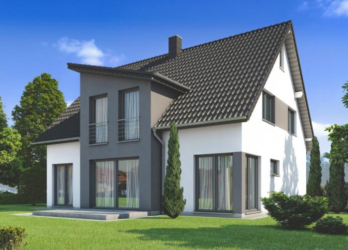 Concept Haus Musterhaus CH 210