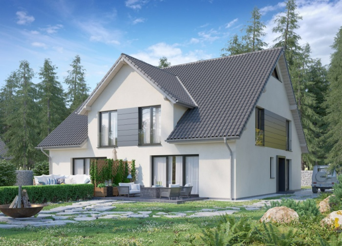 Concept Haus Musterhaus CH 470